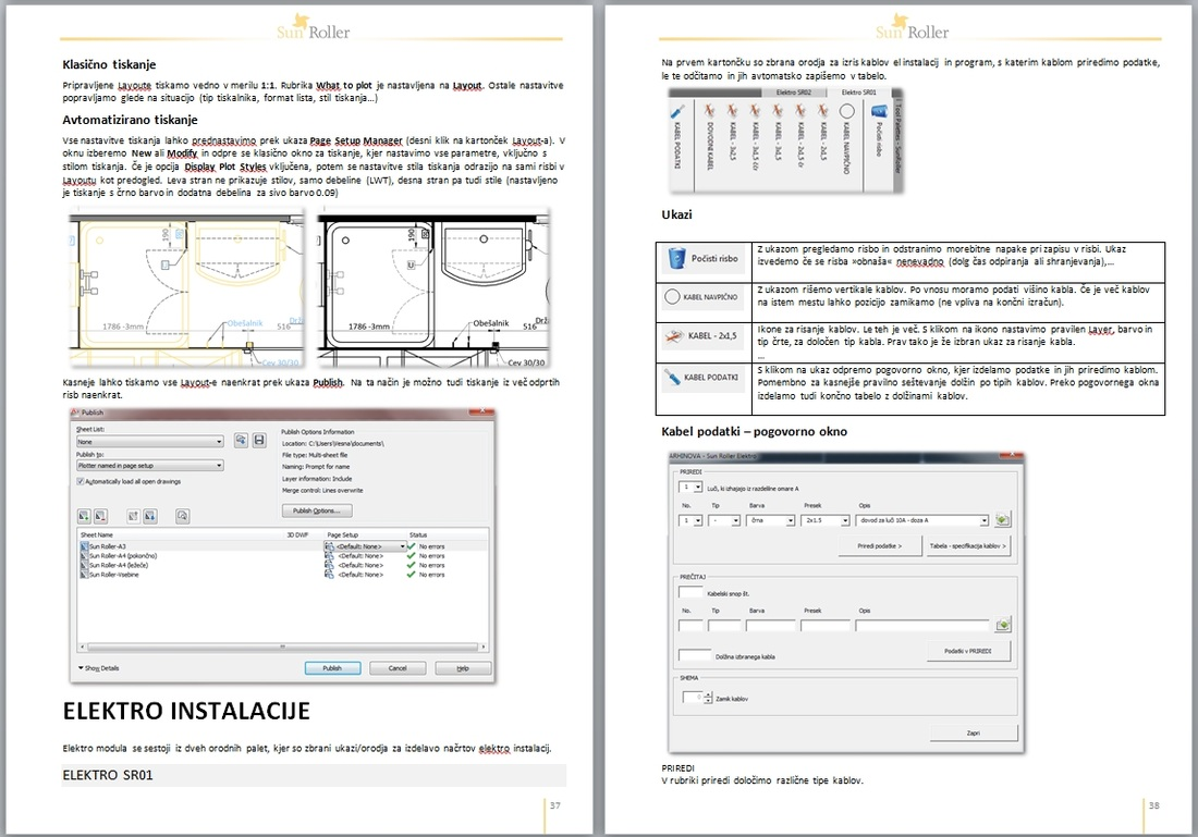 CAD Standards manual - Click to enlarge