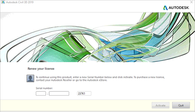 Autodesk-Renew your license