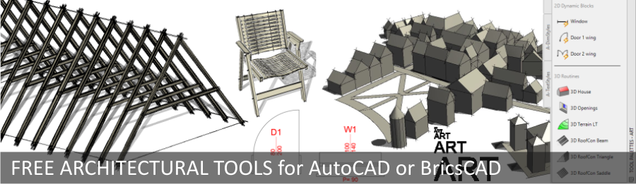 AutoCAD-free architectural tools